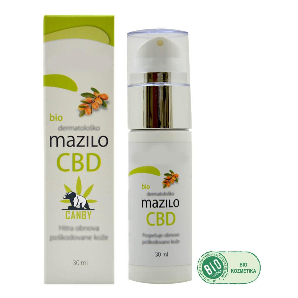 CBD Konopljina Bio Kozmetika dermatolosko mazilo full G