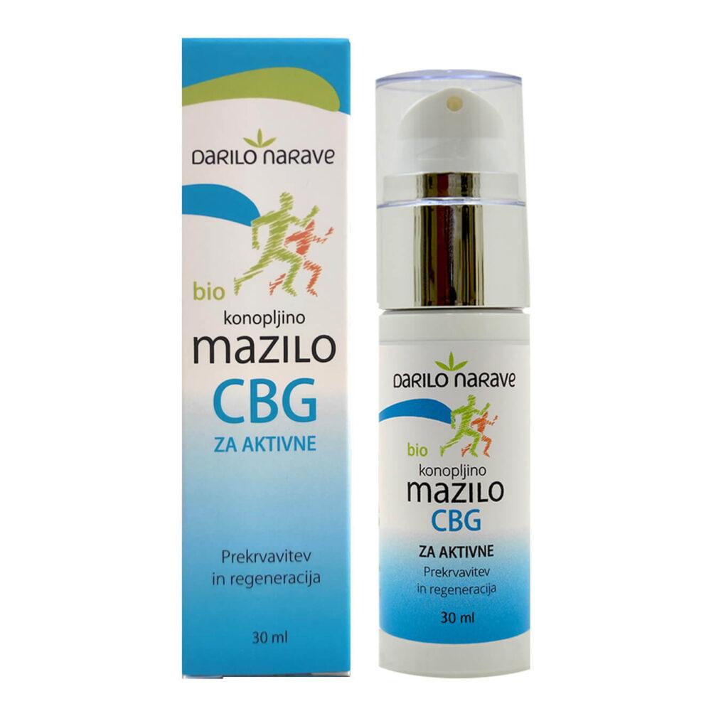 CBD Konopljina Bio Kozmetika CBG mazilo 1
