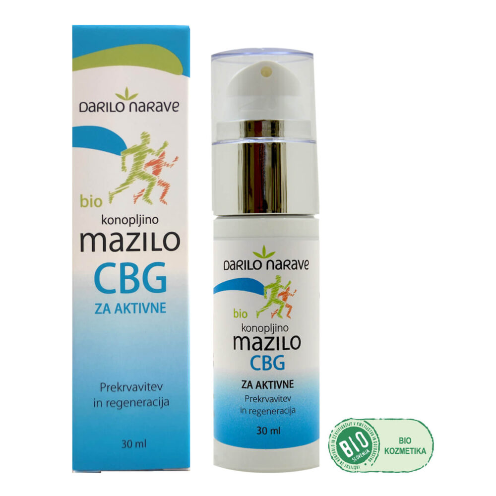 CBD Konopljina Bio Kozmetika CBG mazilo full